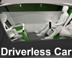 Most Britons will move around in driverless cars