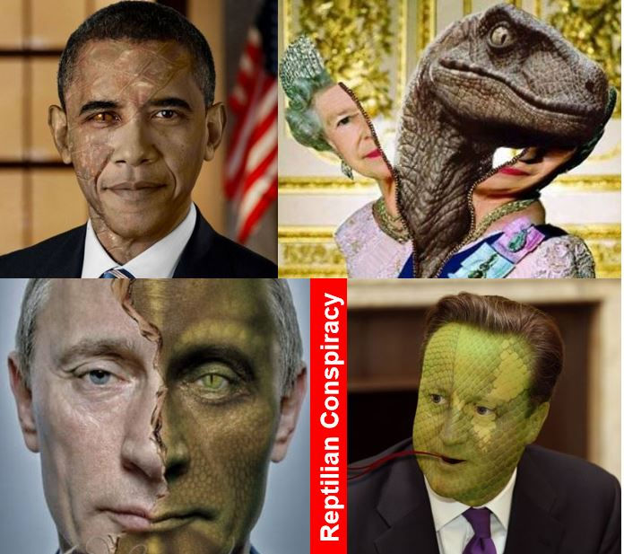 Reptilian conspiracy