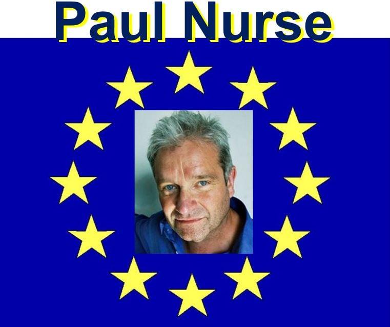 Sir Paul Nurse says Brexit bad for science