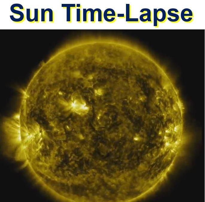 Sun activity video
