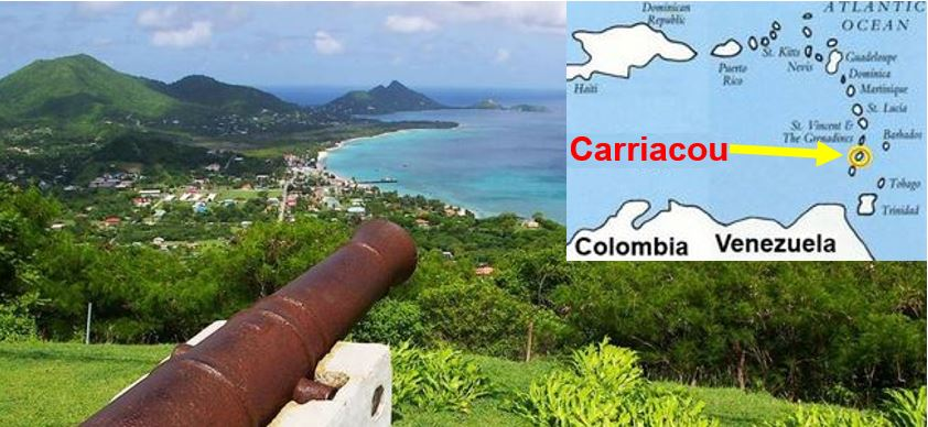 The beautiful island of Carriacou