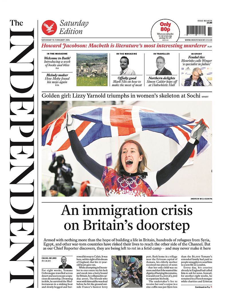 THE INDEPENDENT NEWSPAPER LINKS