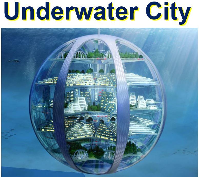 Underwater city in 2116