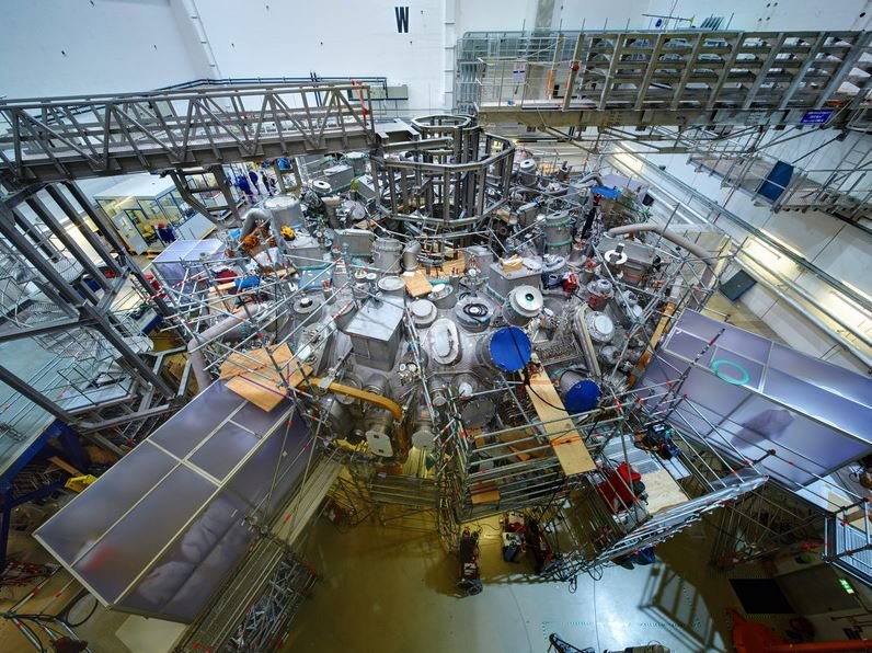 W7-X nuclear fusion device