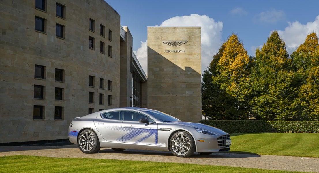 Aston Martin RapidE electric car
