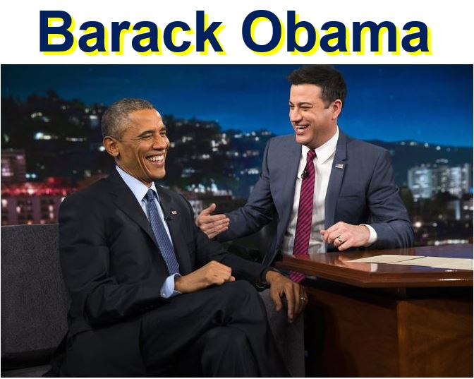 Barack Obama on Jimmy Kimmel Live