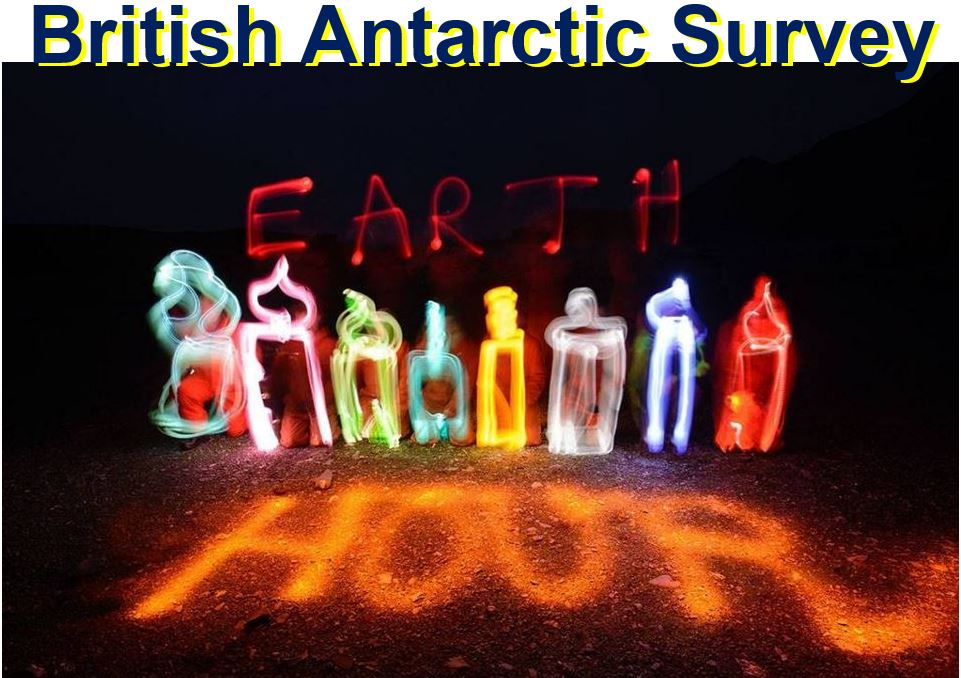 British Antarctic Survey Earth Hour
