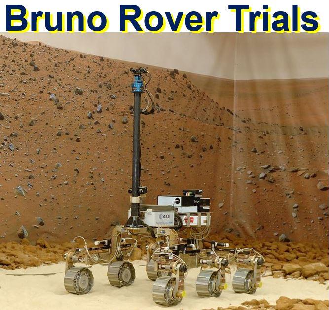 Bruno Rover Trials