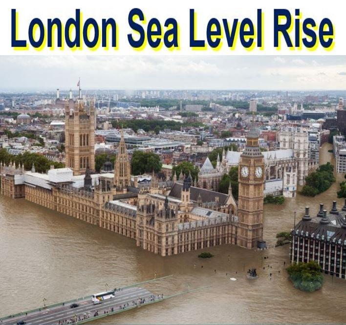 Climate change London sea level rise