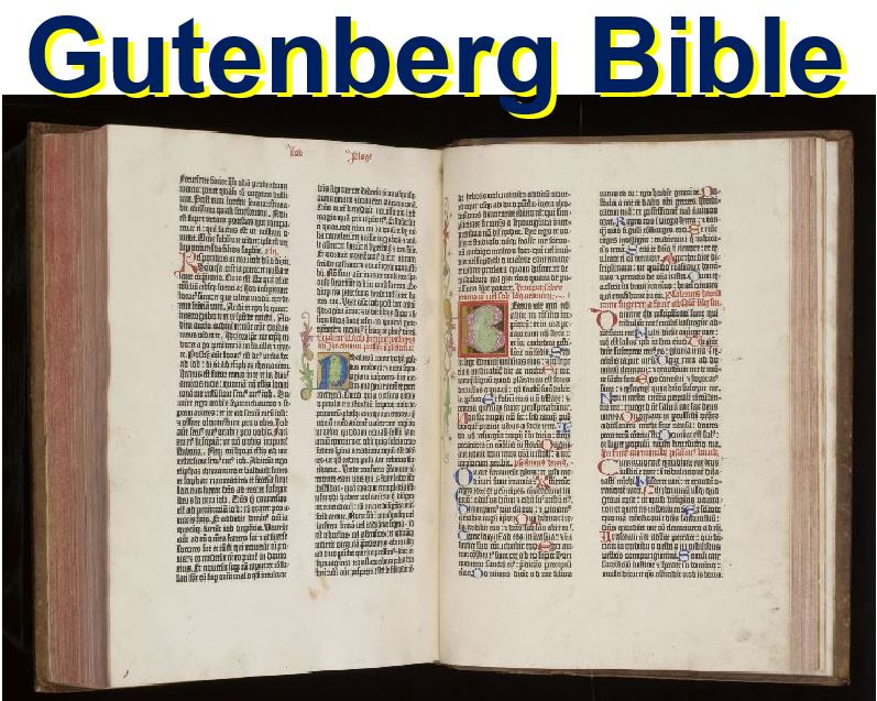 Gutenberg Bible Cambridge University Library