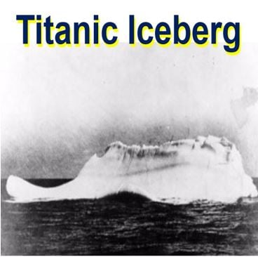 Titanic Sunk By Mega Iceberg 100000 Years Old Says