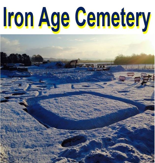Iron Age Settlement with cemetery