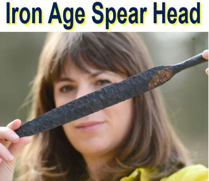 Iron Age Spear Head