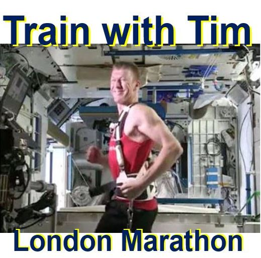 Join Tim Peake in London Marathon