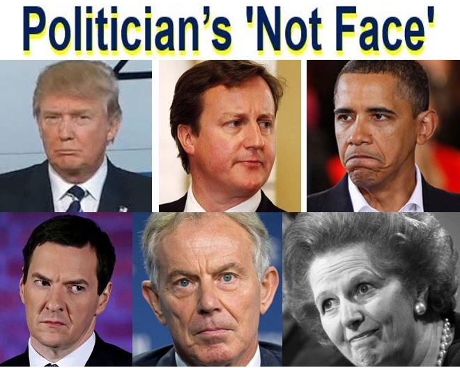 Not Face of politicians