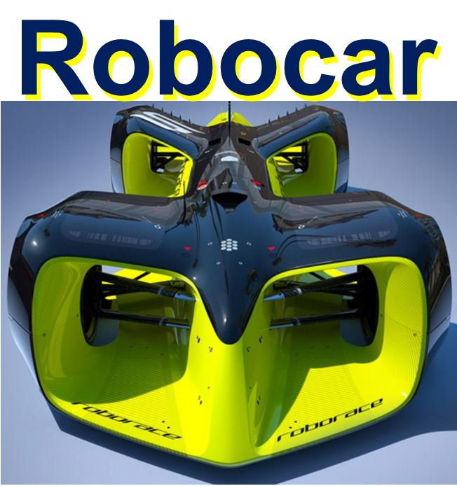 Robocar the Roborace car
