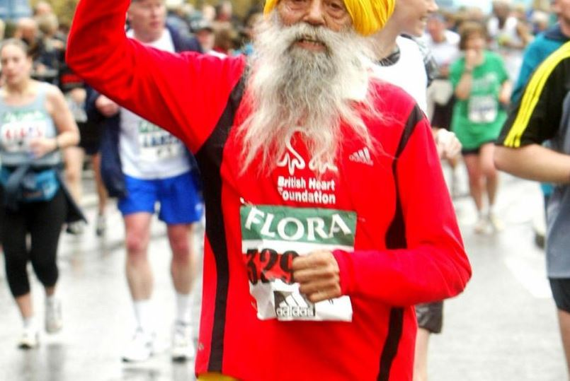 101 year old London marathon runner