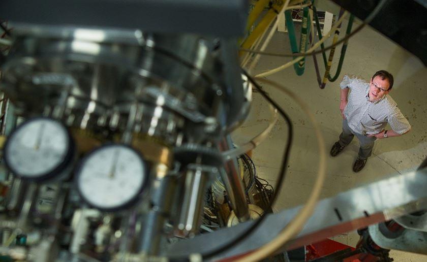 Anton Wallner at ANY Heavy Ion Accelerator