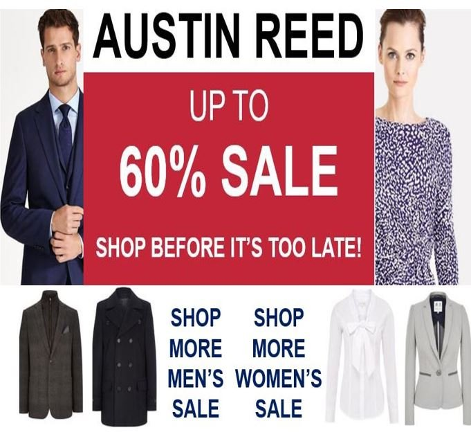 Austin Reed is selling at huge discounts