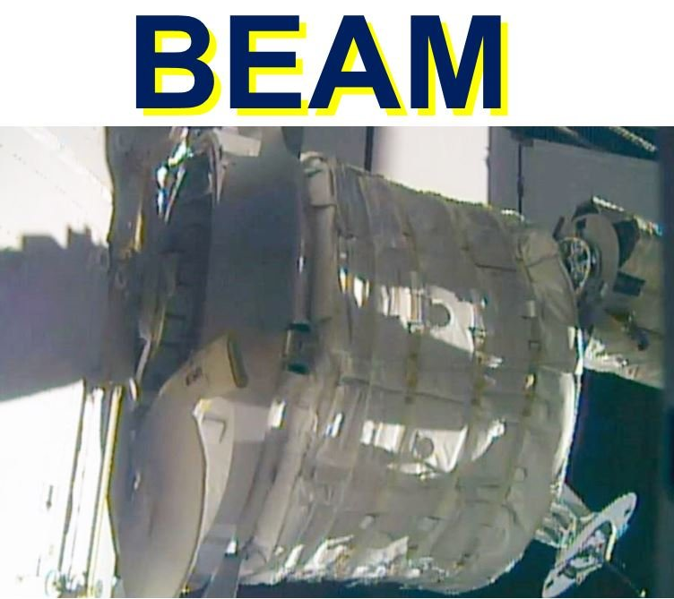 Expandable Martian 'BEAM' pod attached to ISS for test run