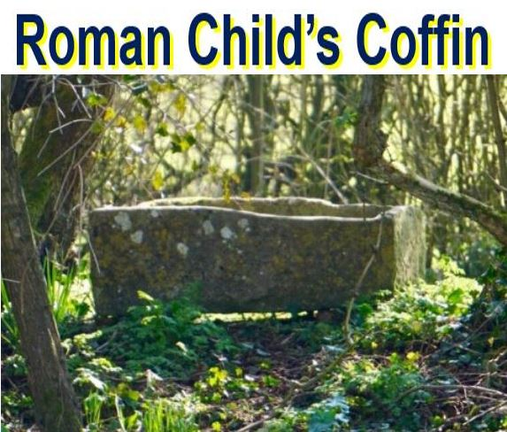 Coffin for a Roman child