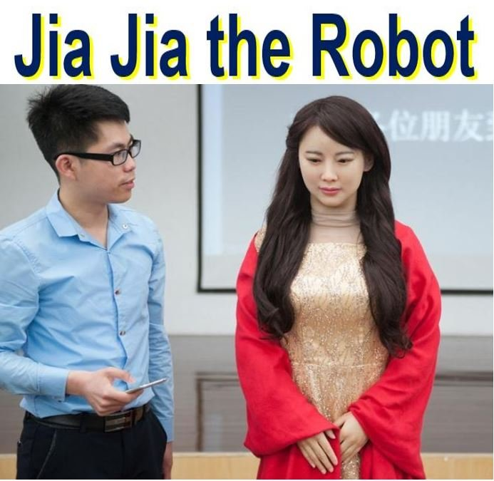 Jia Jia the interactive robot