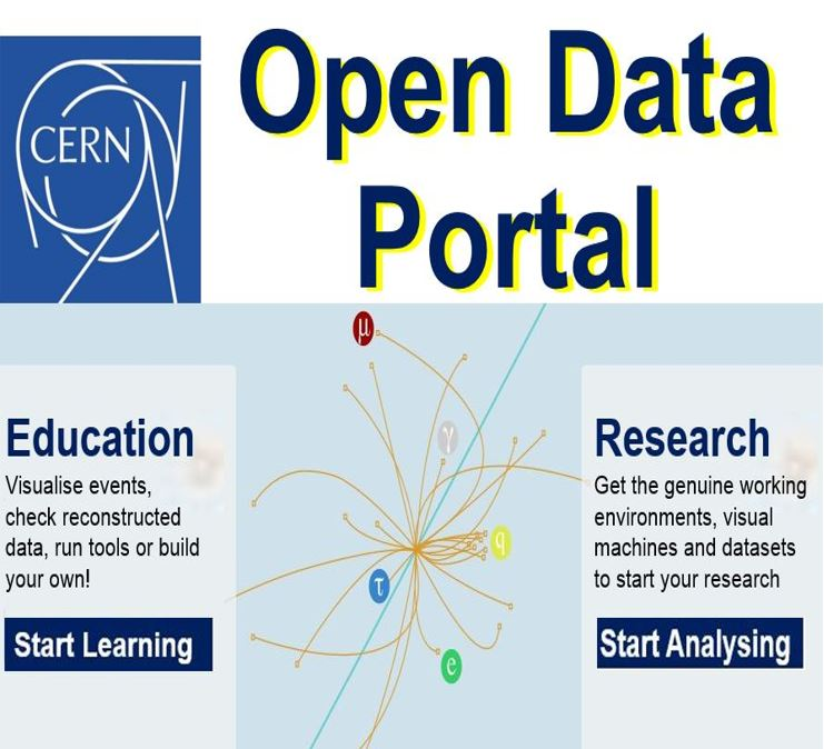 Large Hadron Collider open access data