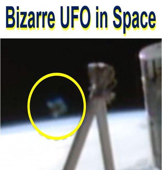 Mysterious horseshoe UFO