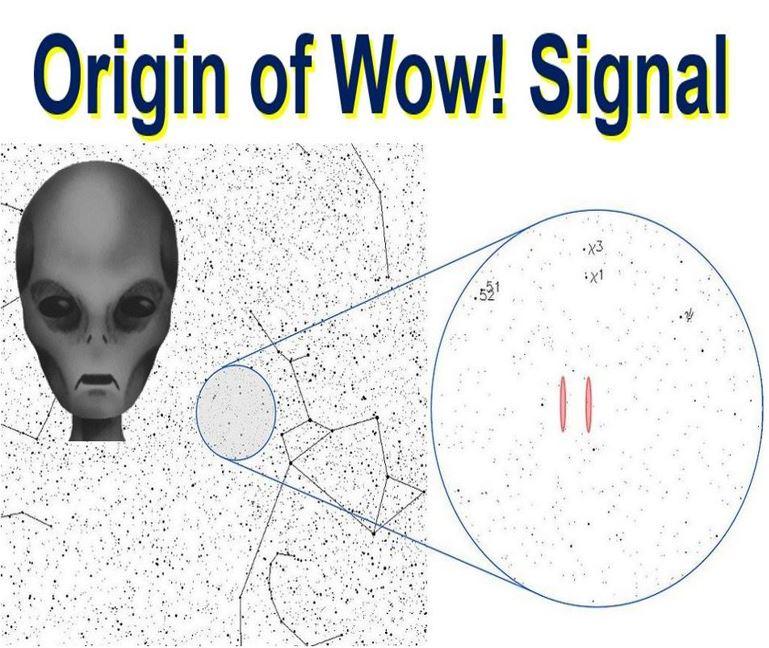 Origin of the Wow Signal
