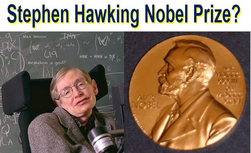 Stephen Hawking and elusive Nobel Prize
