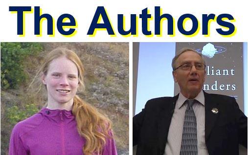 The authors Martin and Livio