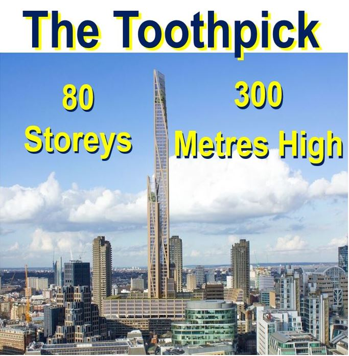 The toothpick timber skyscraper