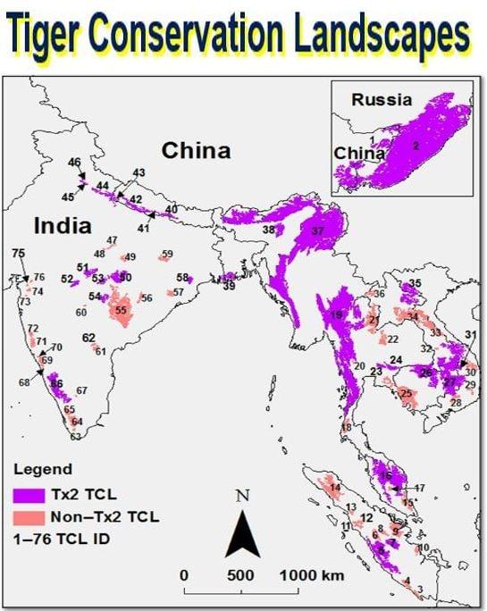 Tiger Conservation Landscapes