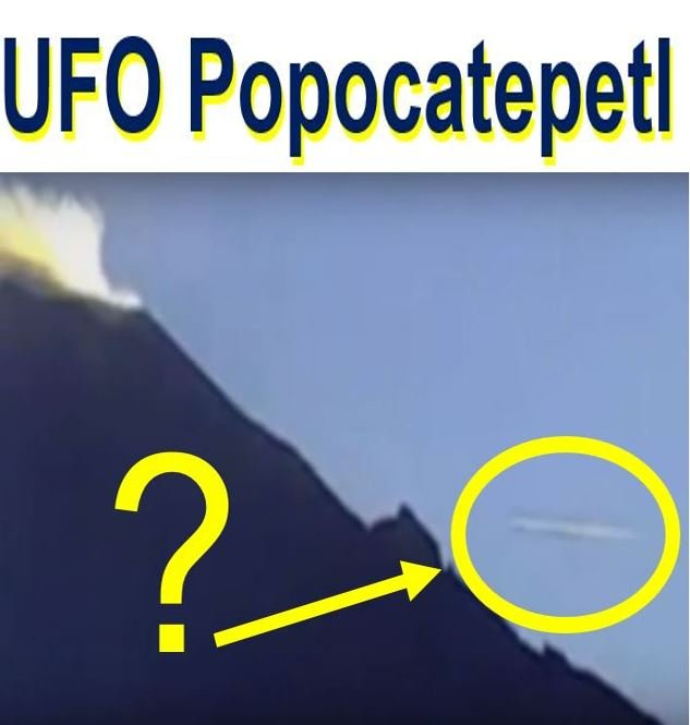UFO at Mexican volcano