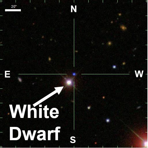 White Dwarf Star with pure oxygen has astronomers excited ...