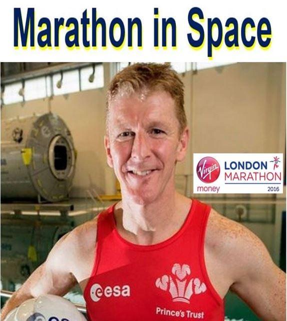 marathon in space