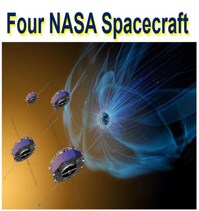 4 NASA spacecraft magnetic explosions