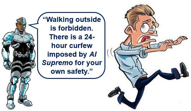 AI imposes curfew