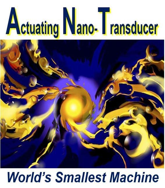 ANT is smallest machine ever made nanorobotics