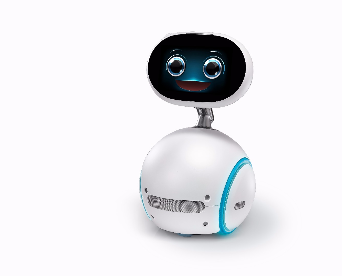 "Zenbo is a voice-controlled home robot which serves as a ""smart home manager,"""
