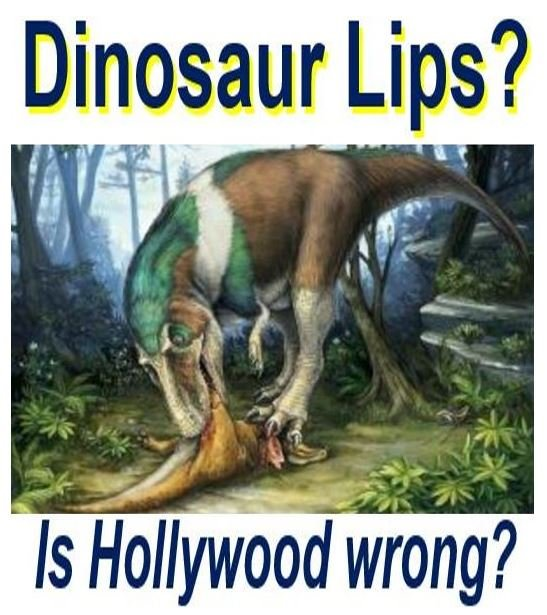 Dinosaurs had lips