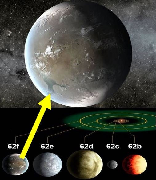 Distant planet may have life