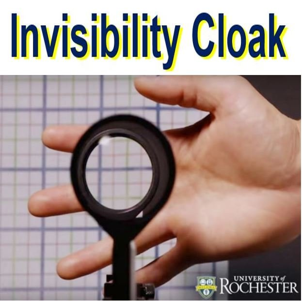 Invisibility cloak fingers gone