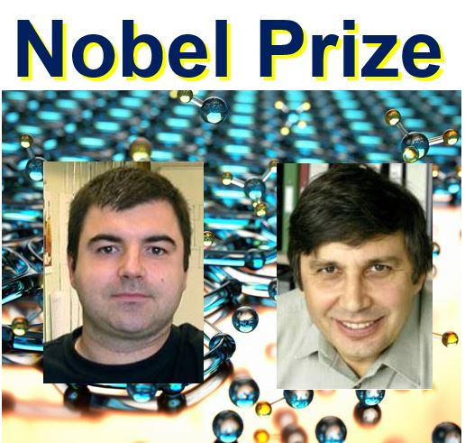 Nobel prize for graphene work