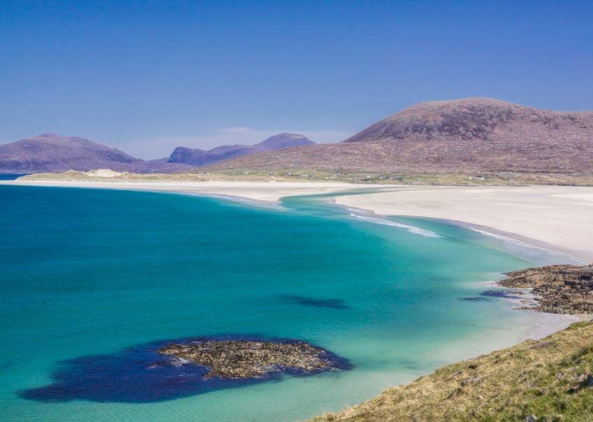 Spectacular Scottish beach