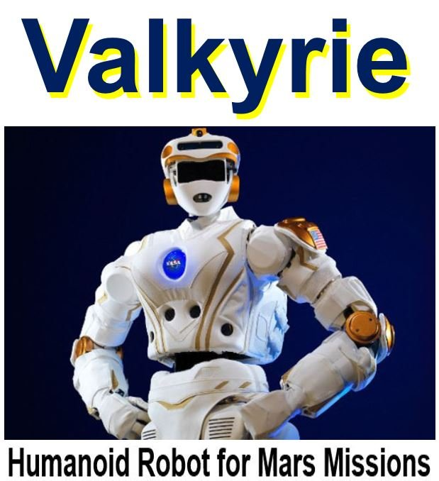Valkyrie the humanoid robot for Mars missions