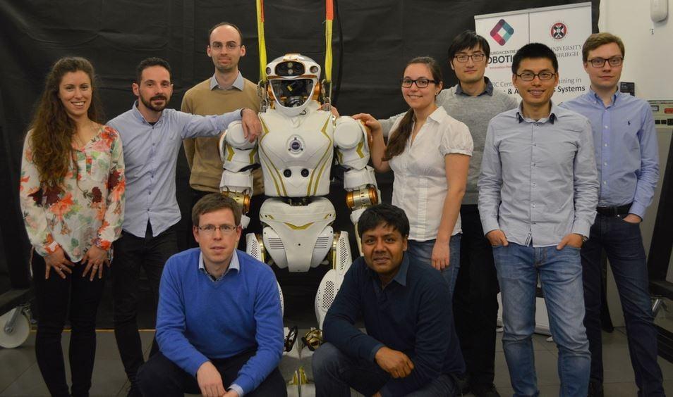 Valkyrie with the Edinburgh research team