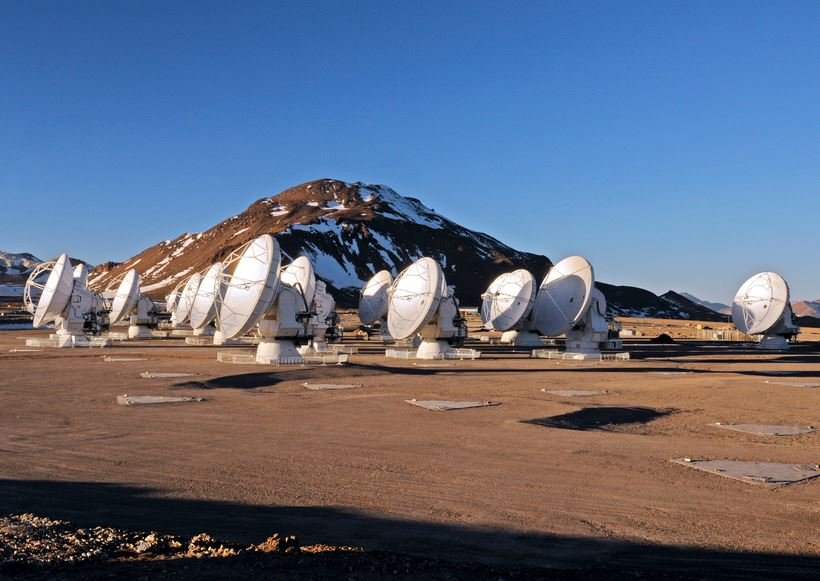 ALMA observatory in Chile