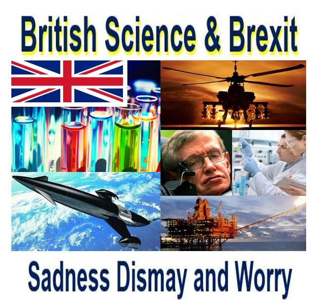 Brexit British Scientists Shock and Dismay