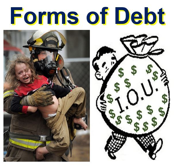 Forms of debt
